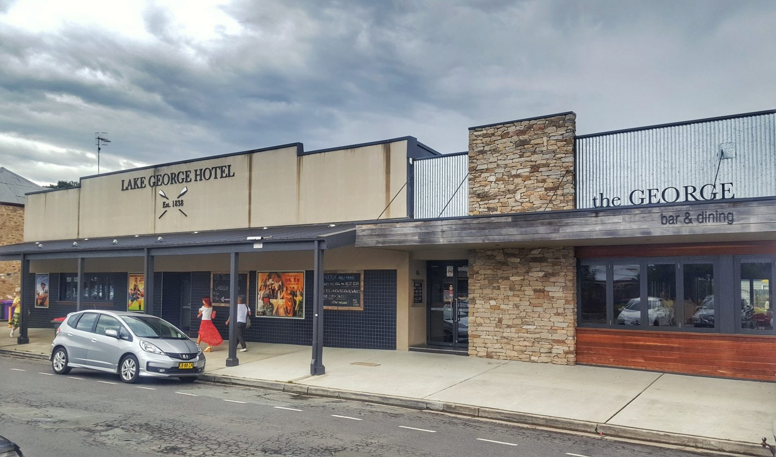 Lake George Hotel Front
