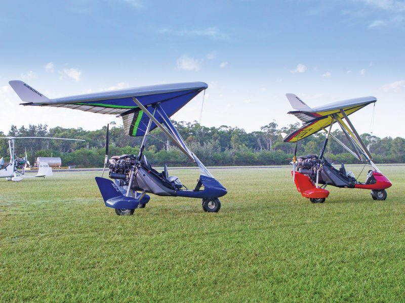 Airborne Flight Training Microlight (Powered Hang Glider) Flights