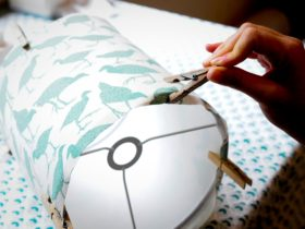 learn how to make lampshades from scratch