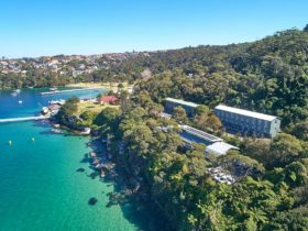Chowder Bay, Sydney Harbour NSW. Building 1 with Clifton Gardens. Group Accommodation.