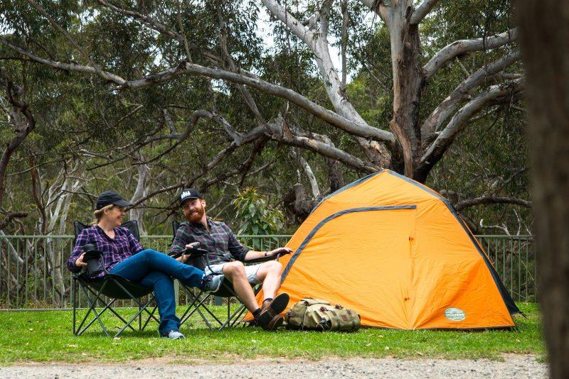 Camping at Lane Cove River Tourist Park