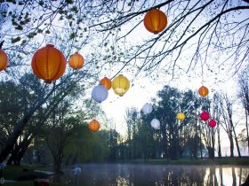Lanterns on the Lagoon