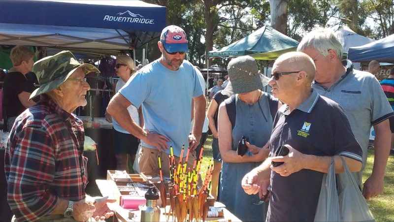 Get your fishing lures at Laurieton Riverwalk Markets