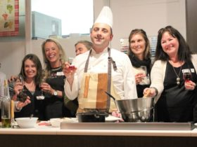 Cooking class at Le Tres Bon