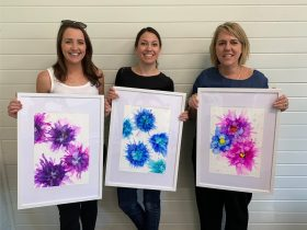 Alcohol Ink Art Workshop Le Workshop Jervis Bay