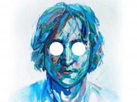 Painting of John Lennon