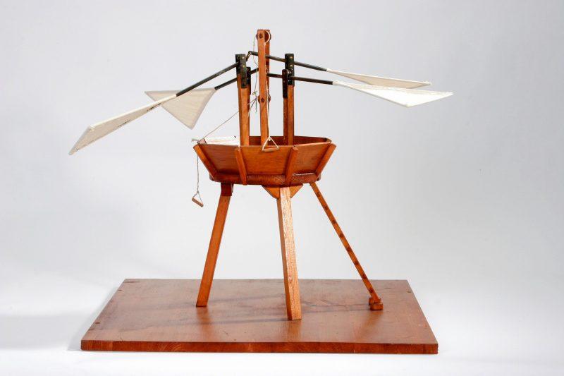 Da Vinci - Vertical Flying Machine