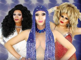 Three drag queens