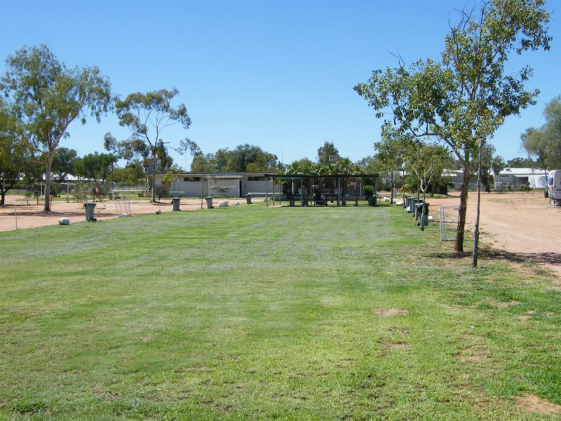 Camping area with lawns