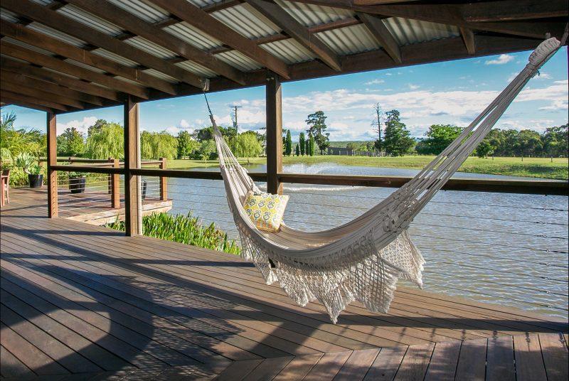Brazilain hammocks to laze in