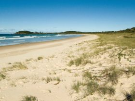Plomer Beach House, Limeburners Creek National Park. Photo: Michael van Ewijk/NSW Government