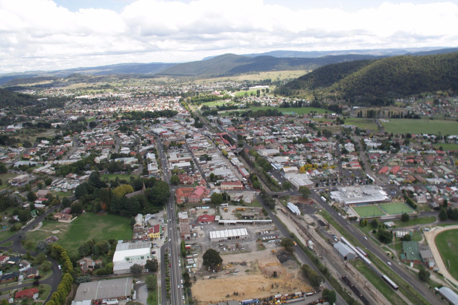 Lithgow Aerial