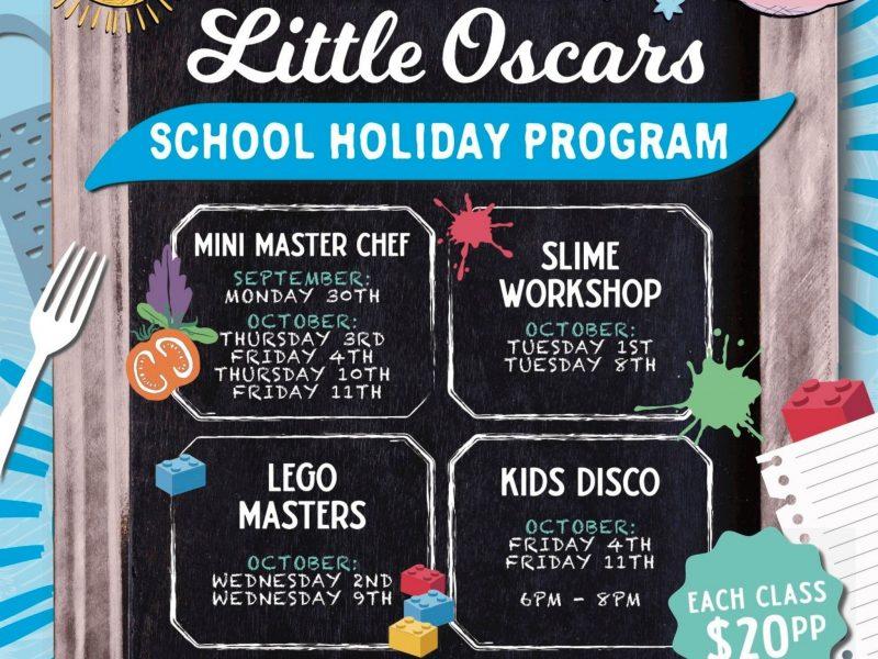 Little Oscars School Holiday Program