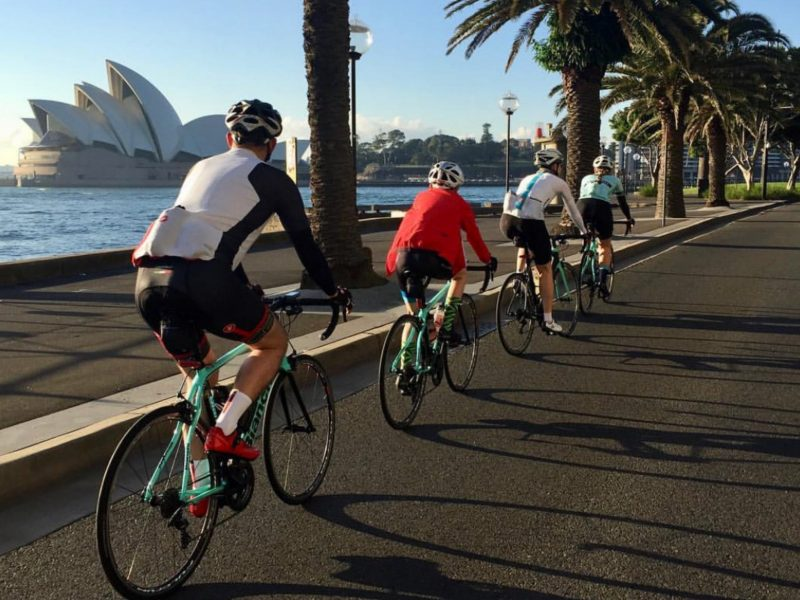 Road bike rental sydney performance bondi guided tour