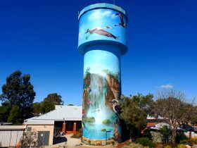 Lockhart Water Tower Mural