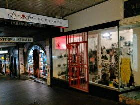 The front of Love Lee Boutique - 224 William St, Woolloomooloo, Kings Cross, Sydney, Australia
