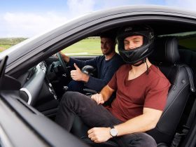 Guys in Car at Luddenham Raceway