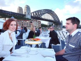 Lunch cruise on Sydney harbour