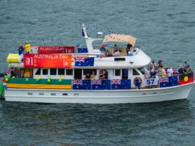 Silver Spirit's Australia Day Harbour Parade