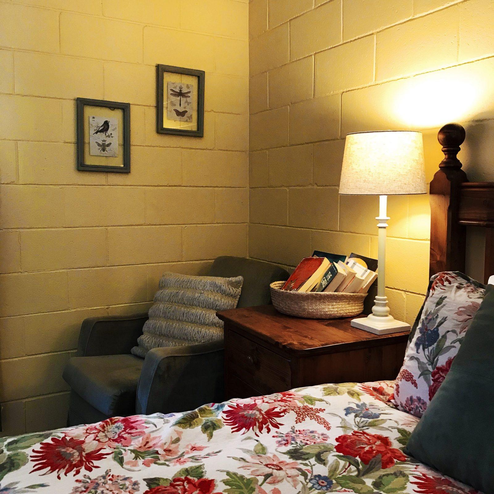 Cosy accommodation.