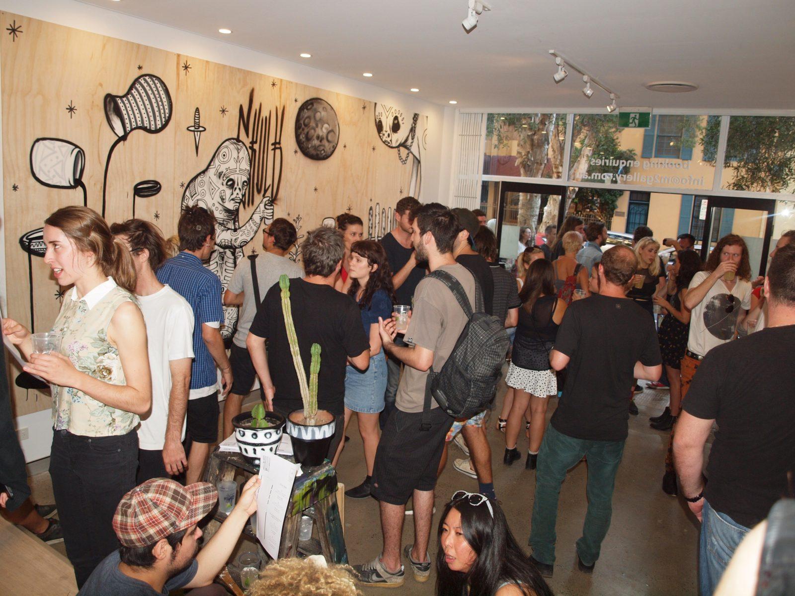 m2 art gallery surry hills sydney