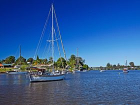 Sailing on the Clarence River Maclean