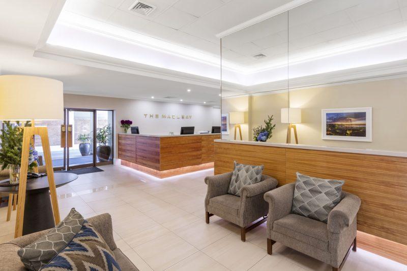 Macleay Hotel Sydney Lobby