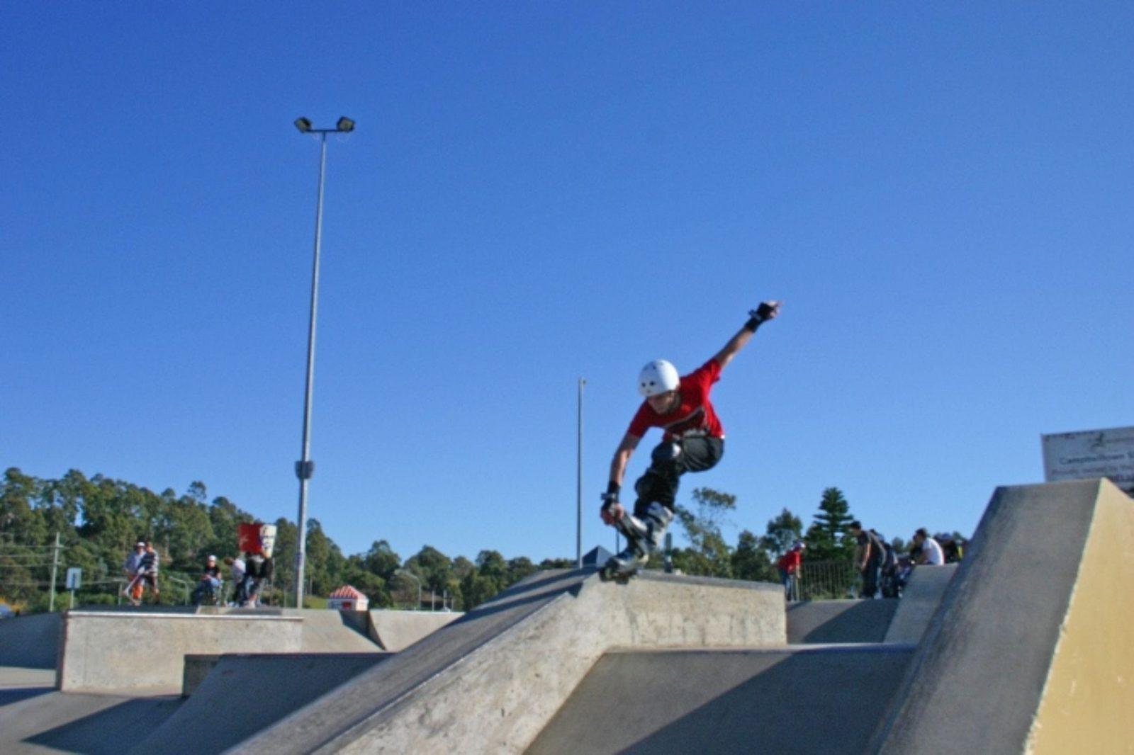 Macquarie Fields Skate park