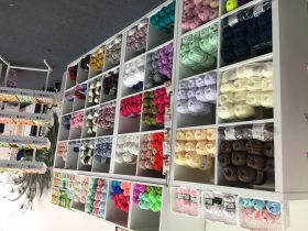 Wide selection of yarn and wool available at Made in Glen