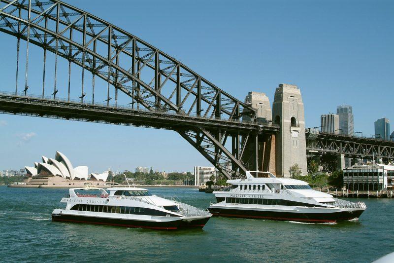 Magistic Sydney harbour lunch cruises
