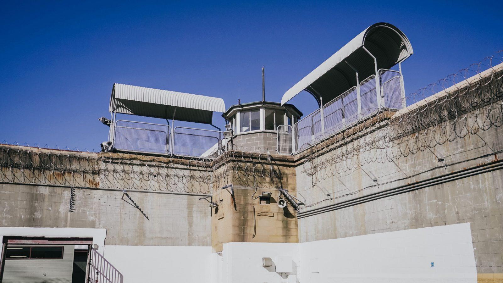 The Guard Tower at Maitland Gaol