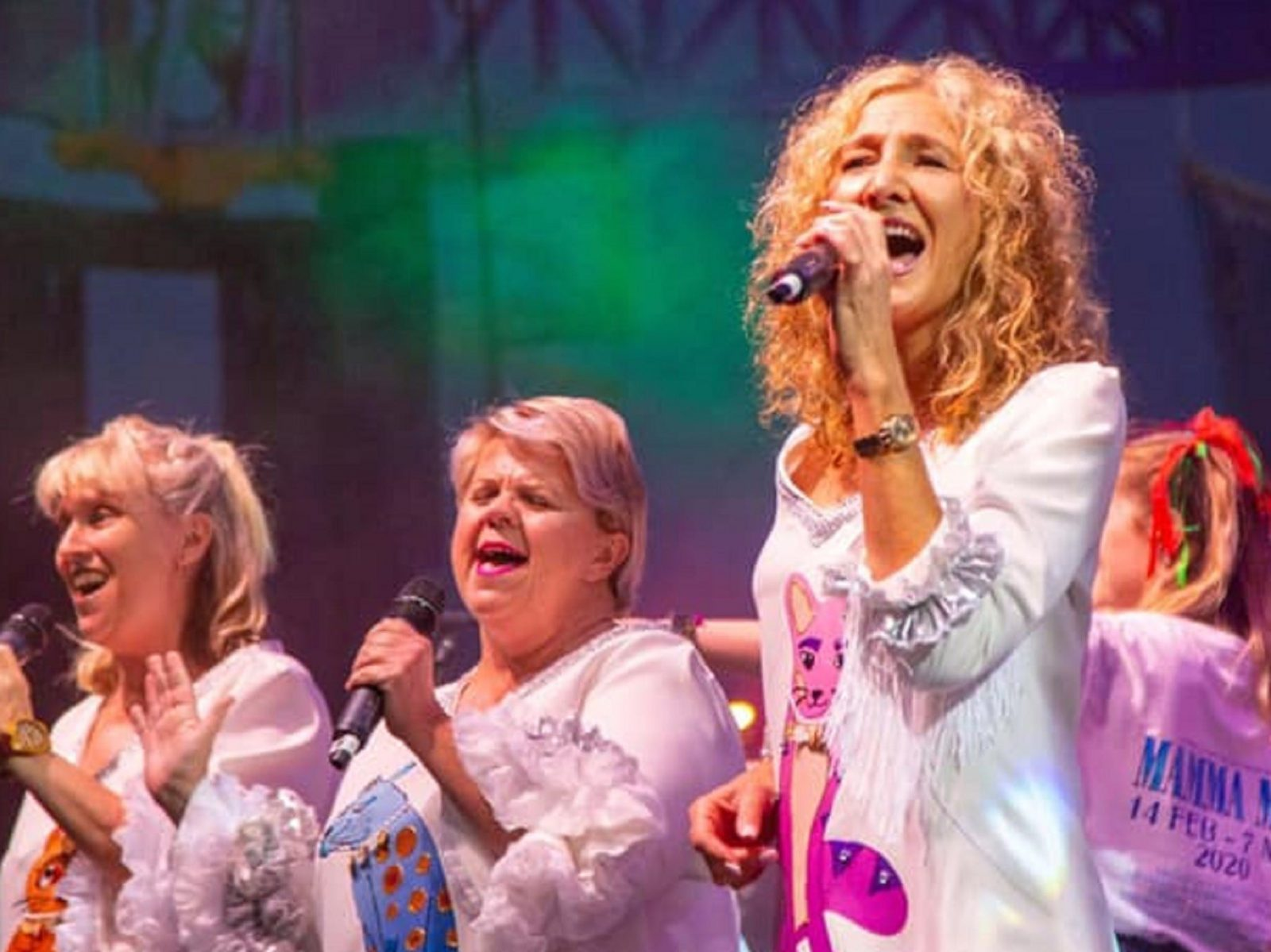 Mamma Mia! the musical at Campbelltown Town Hall Theatre
