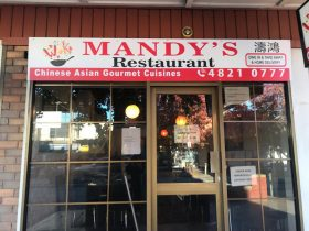 Front facade of Mandy's Restaurant