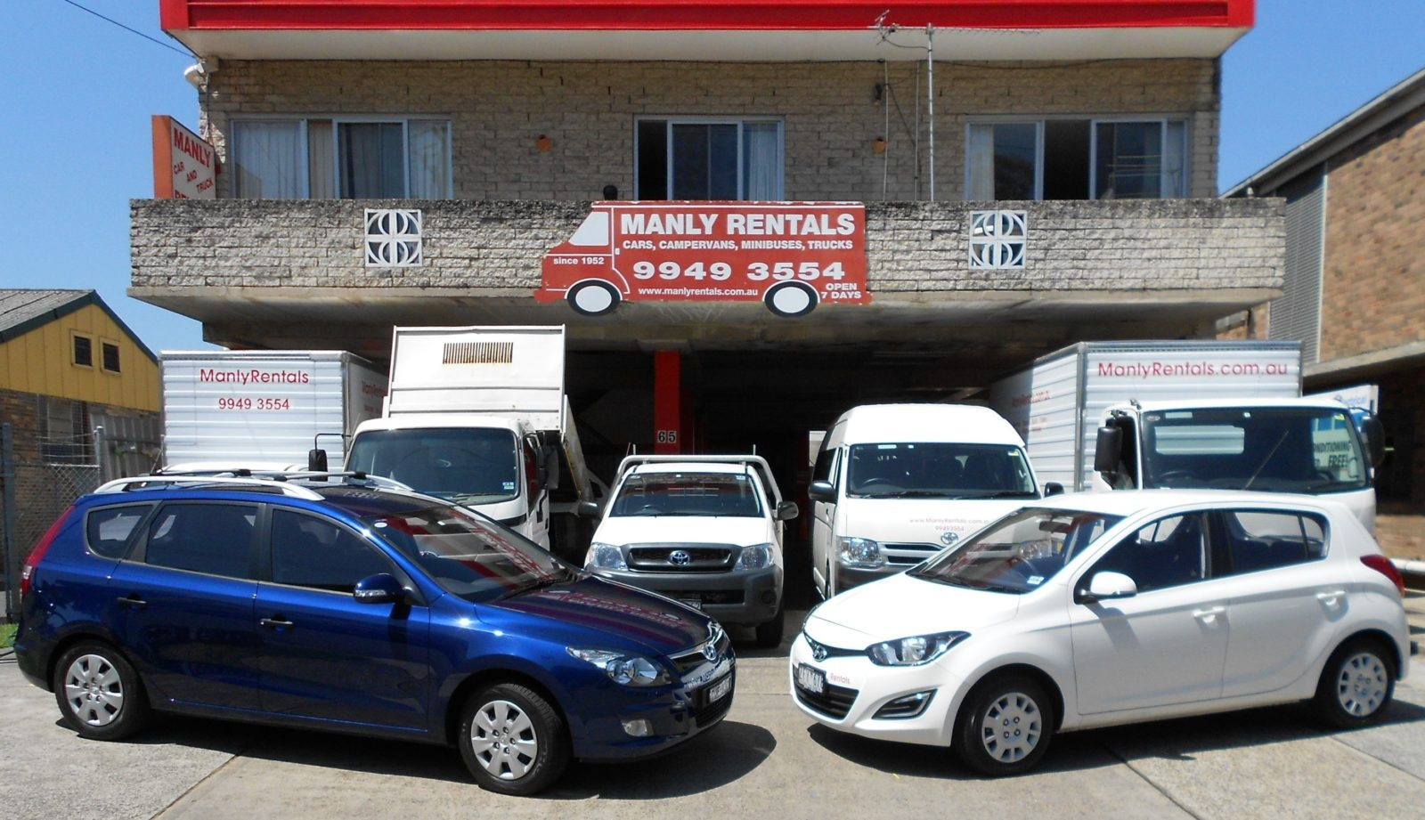 Manly Car and Truck Rentals