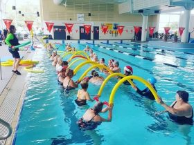 Morning Class at the YMCA Manning Aquatic Centre