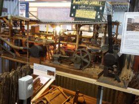 Model Hydro Sawmill MVHS Wingham Museum