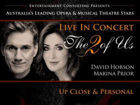Live in Concert, The 2 of Us, David Hobson, Marina Prior