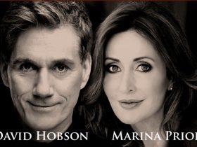 David Hobson & Marina Prior