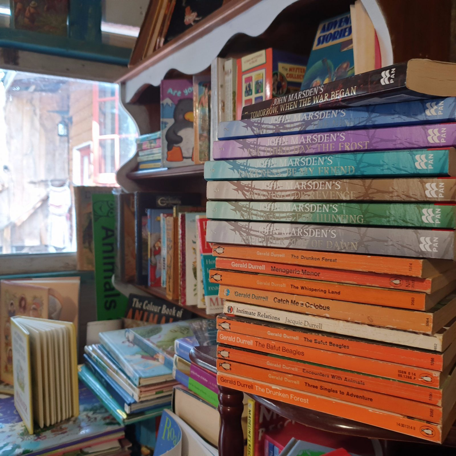 An emporium of fine literature, new and used, 1st editions and rare collectibles