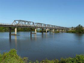 Martin Bridge across the Manning River at Taree