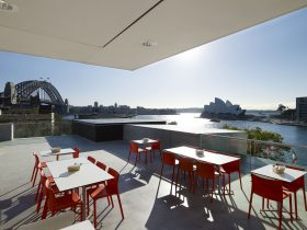 Al fresco dining with iconic Sydney Harbour views