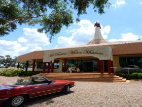 Entrance to McFeeters Motor Museum
