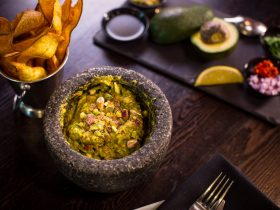 Table-side Made Guacamole at Mejico CBD