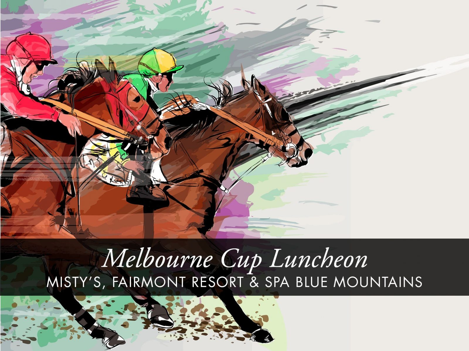 Melbourne Cup Luncheon at Fairmont Resort & Spa Blue Mountains