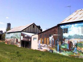 Mendooran Mural Town