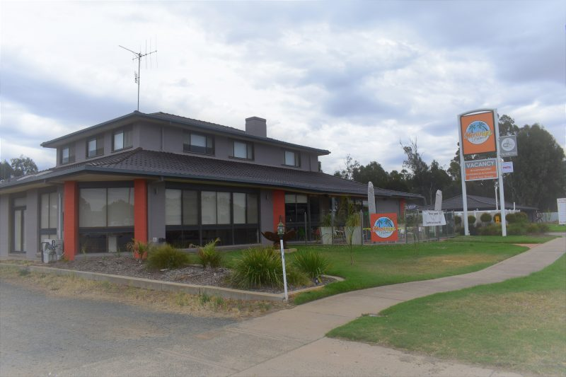 Front of Motel - Left Side