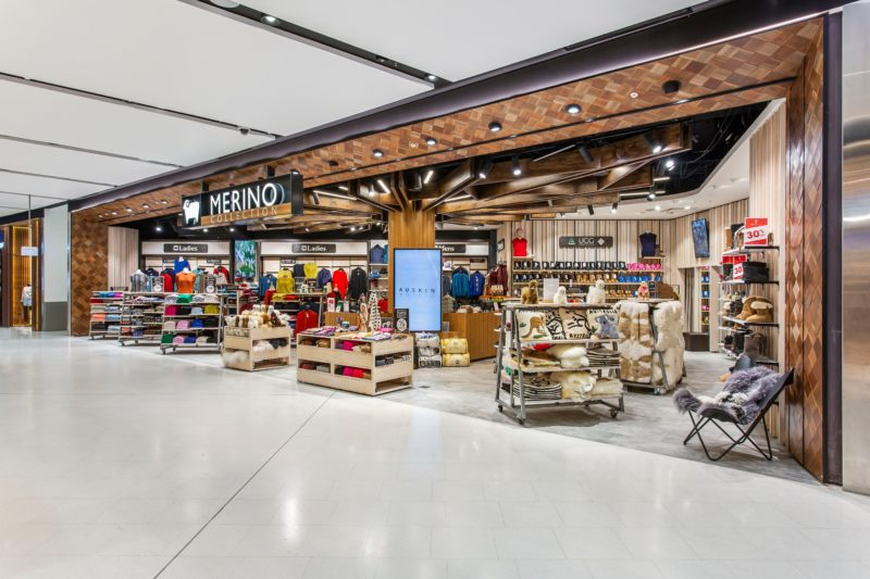 Merino Collection Sydney Airport Merino apparel clothing