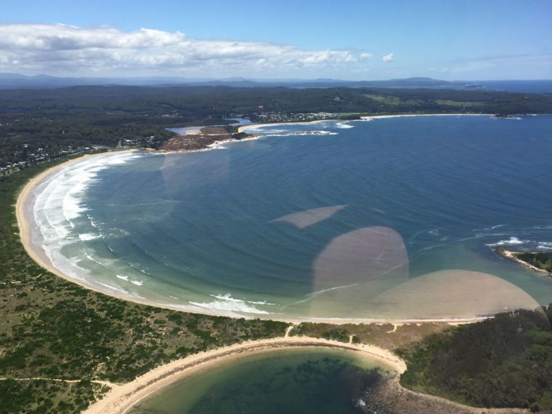 Come view the coast from the air