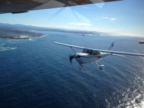 Fly in the C172CP over the Eurobodalla
