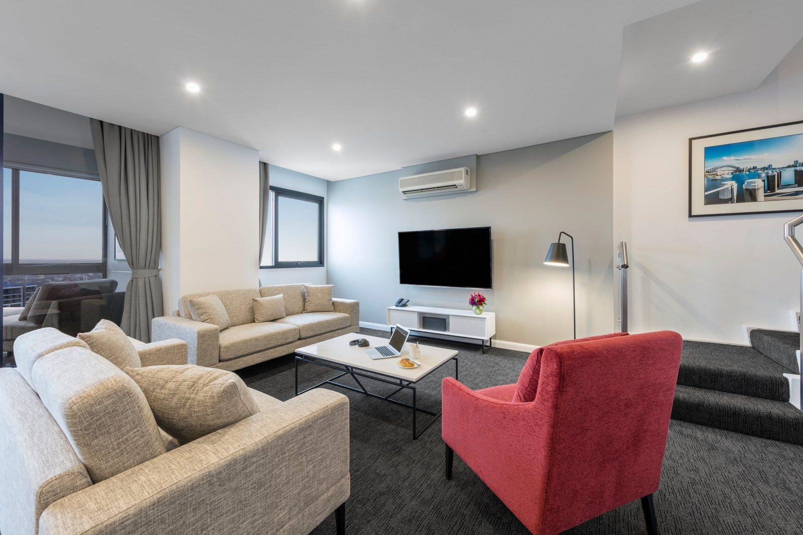 Meriton Suites Kent St Sydney - Guestroom